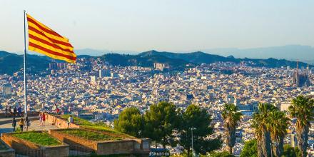 바르셀로나의 시내와 항구가 한눈에 보이는 이곳!