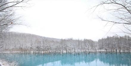 잊을 수 없는 풍경, 청의 호수 아오이이케