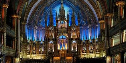 천국의 빛과 소리가 있는 곳, 노트르담 대성당