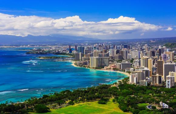 [그린여행]하와이 6일_하얏트 리젠시 와이키키(특급호텔)_반자유 패키지