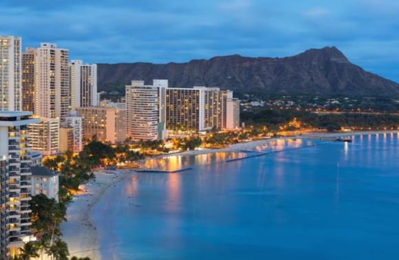 [그린여행]하와이 7일_하얏트 리젠시 와이키키(특급호텔)_반자유 패키지