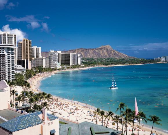 [그린여행][하와이 6일] 와이키키 리조트(일급호텔)_반자유 패키지