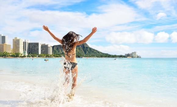하와이 왕복 항공권[대한항공] + 호텔1박